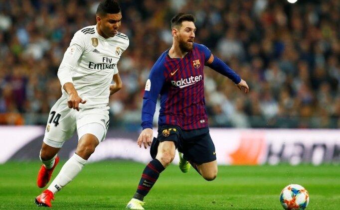 La Liga'da El Clasico heyecanı! Muhtemel 11'ler