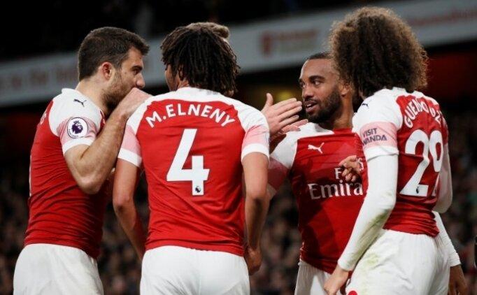 Arsenal'den ilk 4 için kritik zafer!
