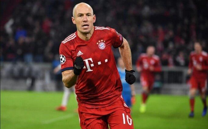 Arjen Robben'in muhtemel 2 rotası!