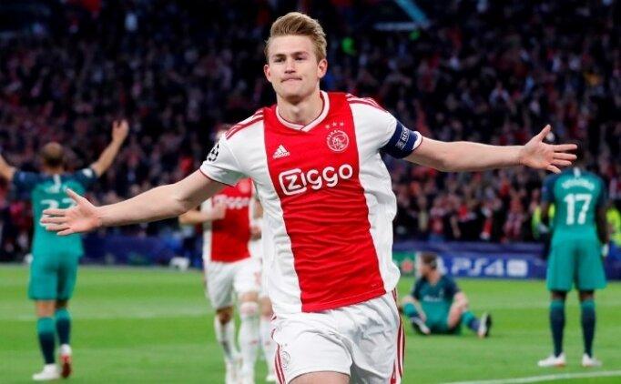 Matthijs de Ligt transferi için tarih verdi!