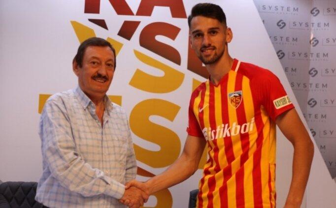 Beşiktaş'tan Kayserispor'a kiralandı