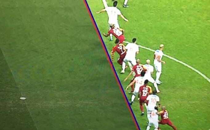 Galatasaray'ın golü VAR'dan döndü
