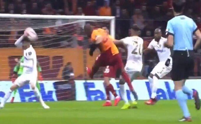 Galatasaray - Kayseri maçında penaltı ve kırmızı kart!