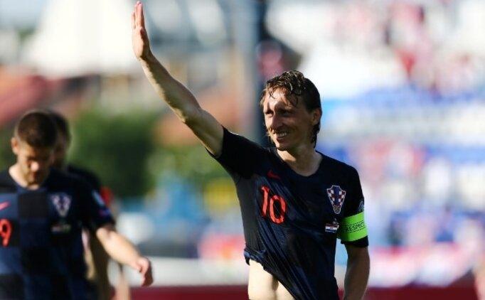 Modric: 'Halen Real Madrid'de oynayabilirim'