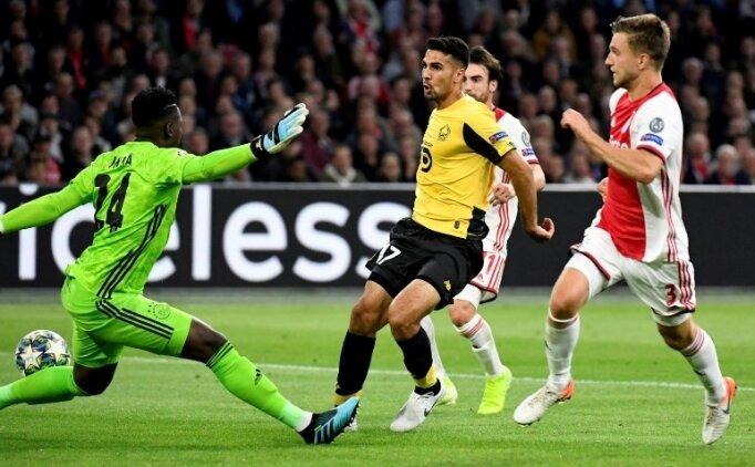 Ajax, Lille engelini rahat aştı! Zeki ve Yusuf...