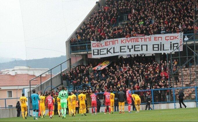 Eskişehirspor'dan büyük centilmenlik