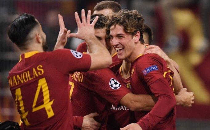 Roma'da Zaniolo sahne aldı, Porto pes etmedi!