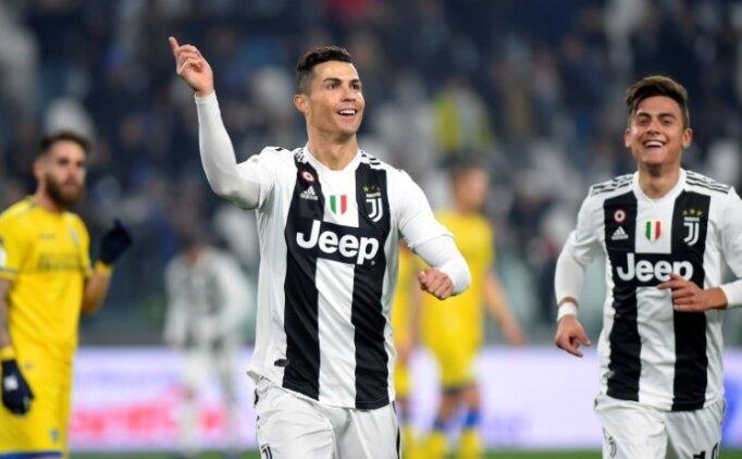 Juventus güle oynaya 3 puanı aldı! Zirvede rahat