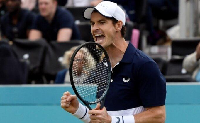 Andy Murray 5 ay sonra kortlara döndü!
