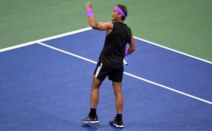 ABD Açık'ta tarihi final! Zafer Nadal'ın