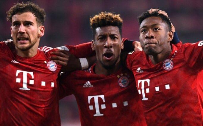 Bayern Münih, Coman ile geri döndü! Augsburg...