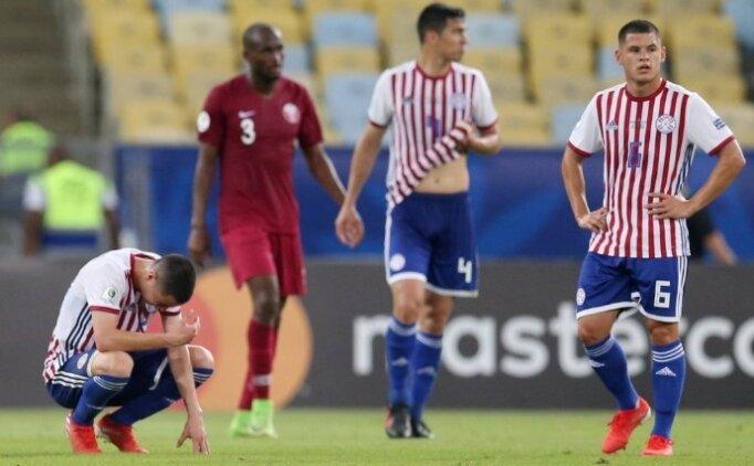 Katar geri döndü, 1 puanı kaptı! Paraguay...