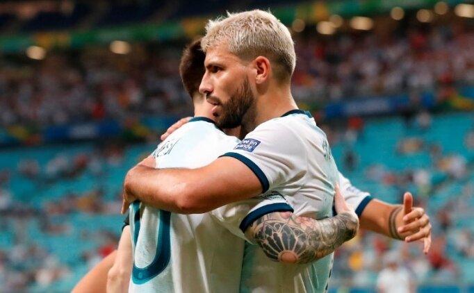 Arjantin 2 golle tur biletini kaptı!
