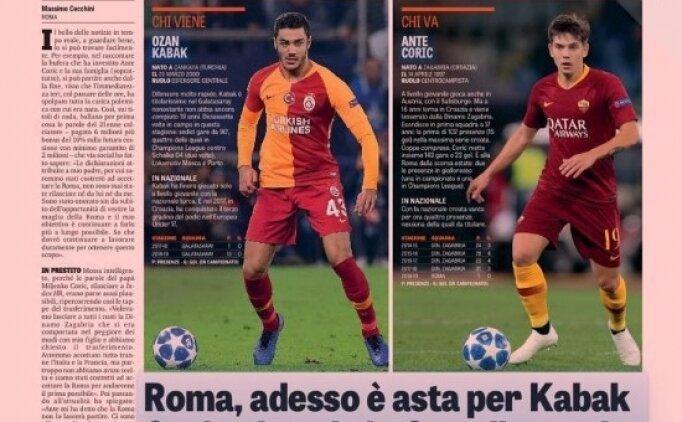 Ozan Kabak İtalya'da manşet: 'Kim geliyor? Ozan Kabak'