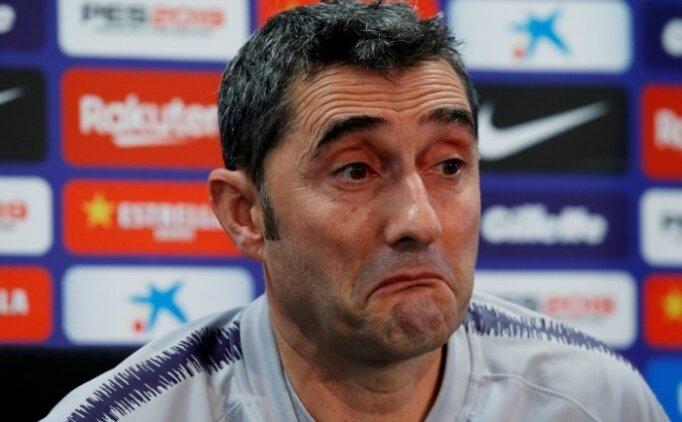 Ernesto Valverde: 'Korkmuyoruz, lideriz'