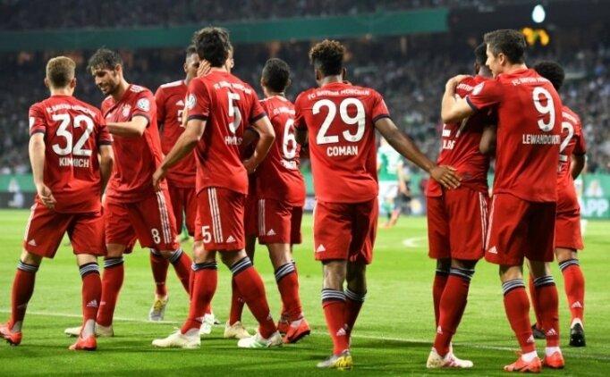 Bayern Münih geri dönüşe izin vermedi! Finalde...