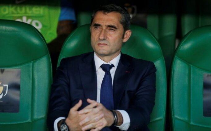 Barcelona'dan final sonrası Valverde açıklaması!