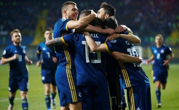 Süper Lig yıldızları, Bosna Hersek'i taşıdı!