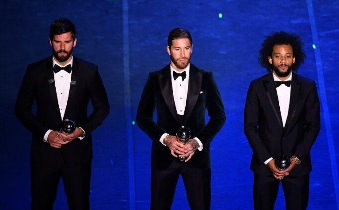 Sergio Ramos: 'Ödül isteseydim, tenis oynardım'