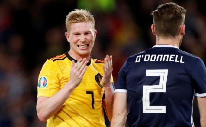 Belçika, İskoçya'nın fişini 23 dakikada çekti!