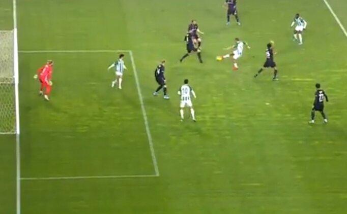 Konyaspor'un Beşiktaş'a attığı gol VAR ile iptal edildi