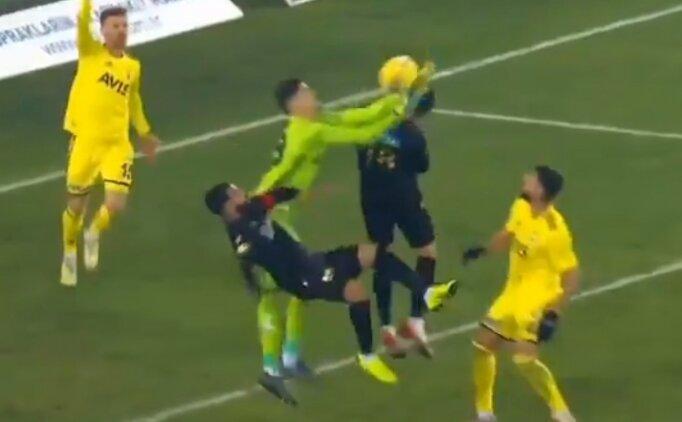 Malatyaspor ağları sarstı, faul nedeniyle gol verilmedi