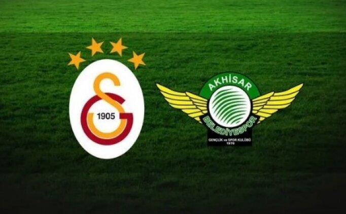 Galatasaray Akhisarspor maçı saat kaçta? GS Akhisar başlama saati belli mi?