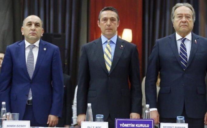 Fenerbahçe'de Semih Özsoy konuşacak!