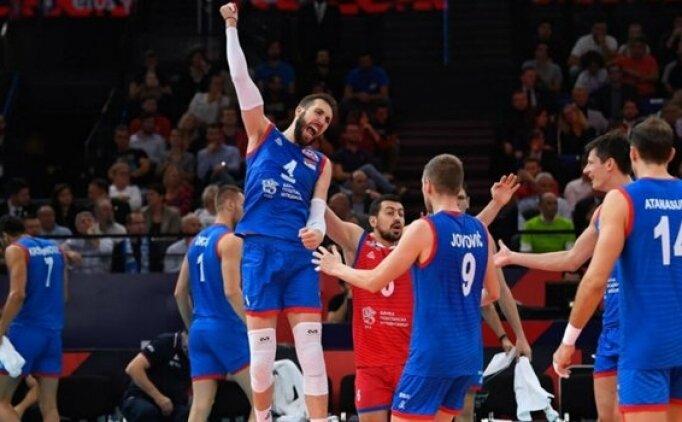 Voleybolda şampiyon Sırbistan oldu!