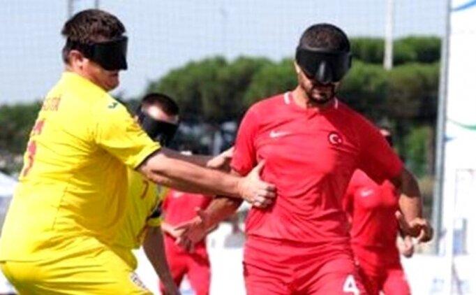 Türkiye, Görme Engelliler Avrupa Futbol Şampiyonası'nda yarı finalde