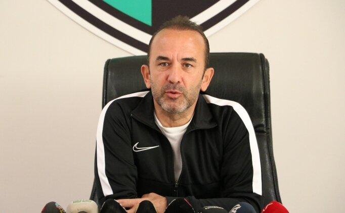 Mehmet Özdilek: 'Beşiktaş maçını kazanarak gündem oluşturmak istiyoruz'