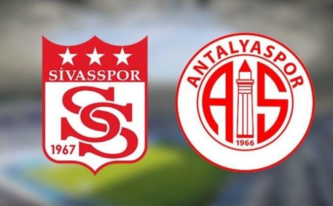 Sivasspor - Antalyaspor Jestspor izle