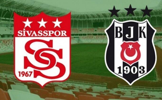 Sivasspor Beşiktaş maçı özet ve golleri izle (beİN Sports)