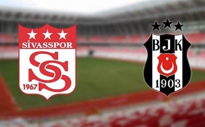 Sivasspor Beşiktaş maçı özet ve golleri İZLE