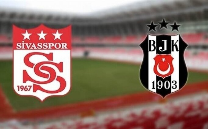 MAÇ ÖZETİ: Sivasspor Beşiktaş maçı golleri İZLE