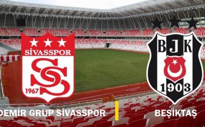 Sivasspor Beşiktaş GOLLERİ İZLE, Beşiktaş Sivasspor maçı tüm golleri izle