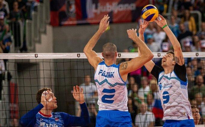 Slovenya, son şampiyon Rusya'yı yıktı!