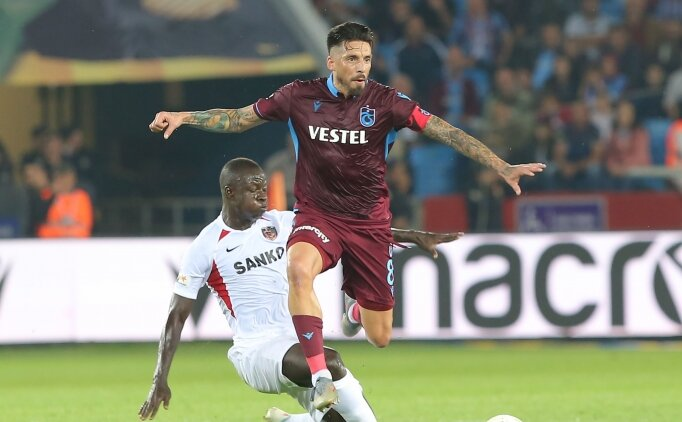Trabzonspor'da Sosa'ya tam yetki