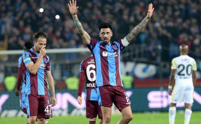 Trabzonspor'da Sosa'ya sözleşme şartı