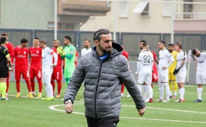 Serkan Özbalta: 'Defans yapmaya çalışan bir takım değiliz'