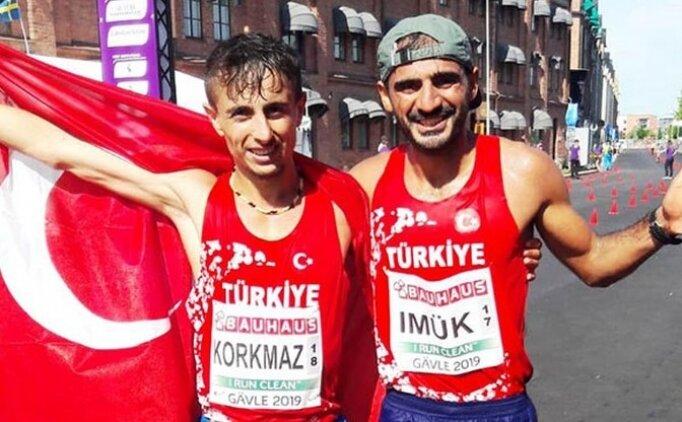 Salih Korkmaz'dan gümüş madalya