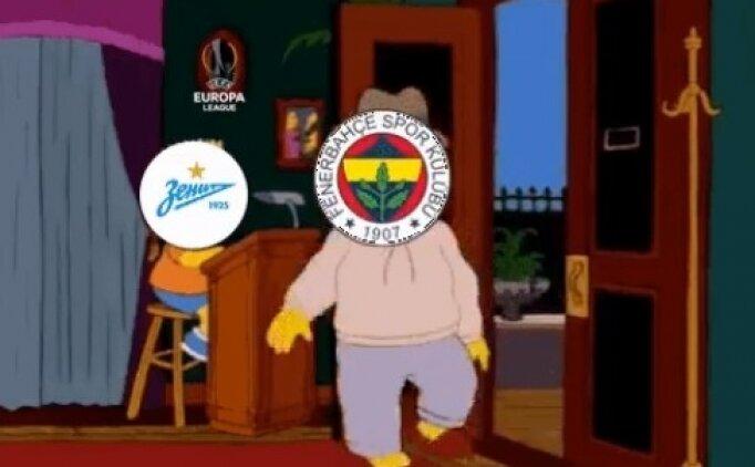 Zenit'ten Fenerbahçe maçı sonrası olay paylaşım