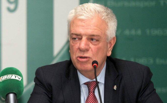 Bursaspor Başkanı Ali Ay: 'Bir şehir ağlıyor'