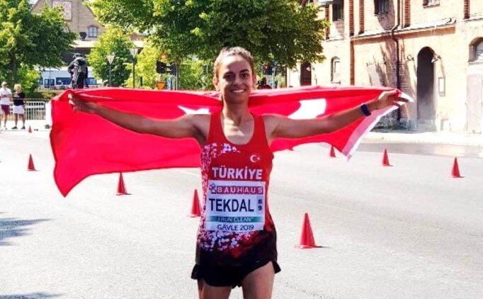 Ayşe Tekdal, İsveç'te altın madalya kazandı!
