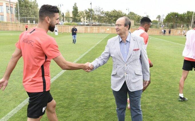 Sevilla başkanından transfer mesajı!