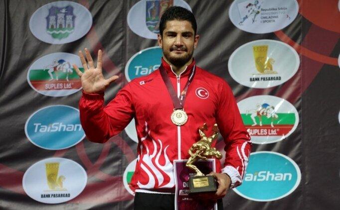 Taha Akgül, Avrupa şampiyonu!