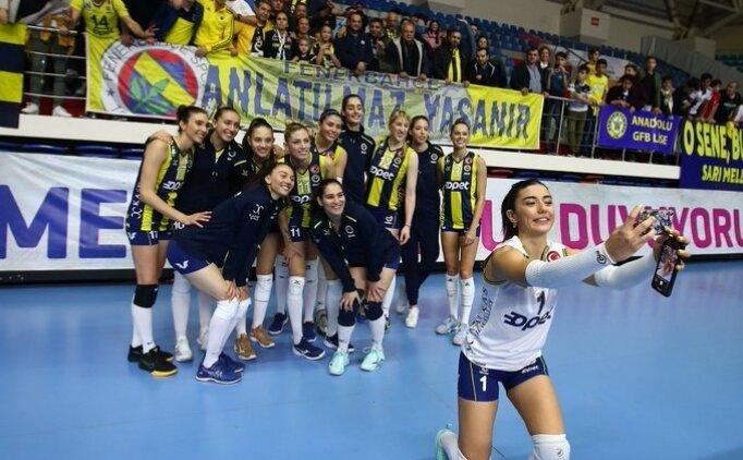Fenerbahçe evinde set vermedi