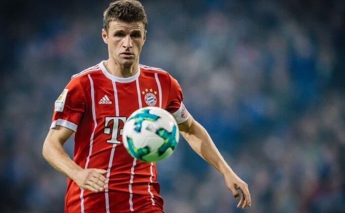 Bayern Münih'de Thomas Müller şoku