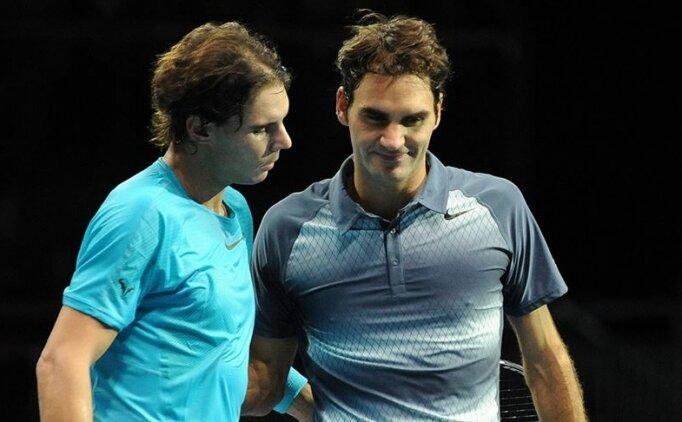 California'da Federer ve Nadal karşı karşıya!
