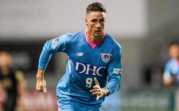 Fernando Torres son maçına çıktı!